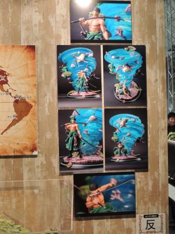【画像レポート】Zoro-HQS by Tsume |onepiece.comブース ジャンフェス2014 #jumpfesta