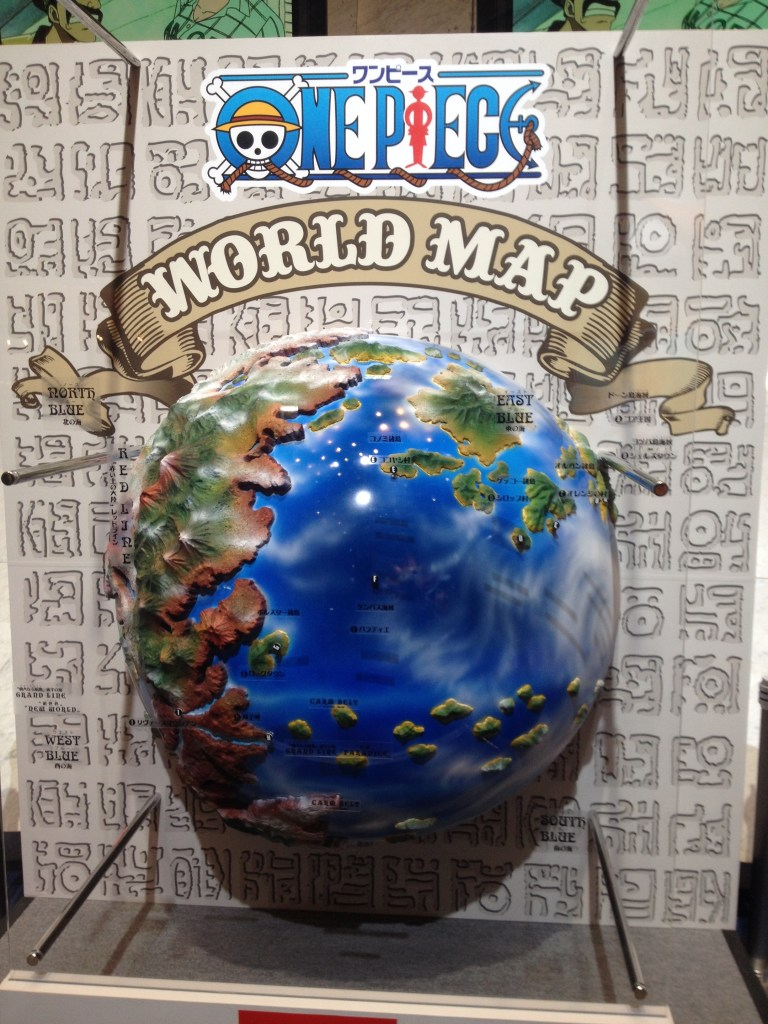 【画像レポート】WORDL MAP ワンピース(ONE PIECE) TVアニメ 15周年感謝祭