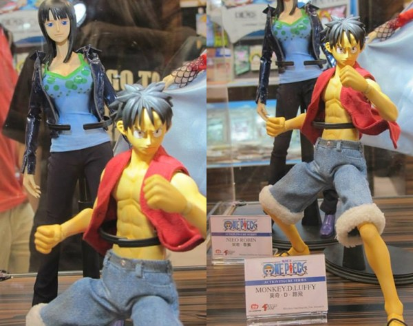 ONE PIECE ACTION FIGURE SERIES robin luffy ロビン ルフィ