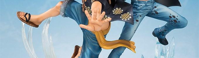 フィギュアーツZERO モンキー・D・ルフィ&トラファルガー・ロー -5th Anniversary Edition- 画像公開!12月発売 ワンピース フィギュア 新作情報