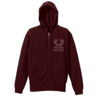 One Piece Bartolomeo Zippered Parka BURGUNDY L 01