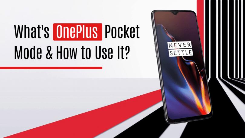 OnePlus pocket mode