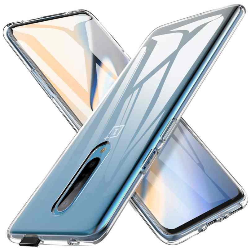 AINOYA Crystal Clear OnePlus 7 Pro Case
