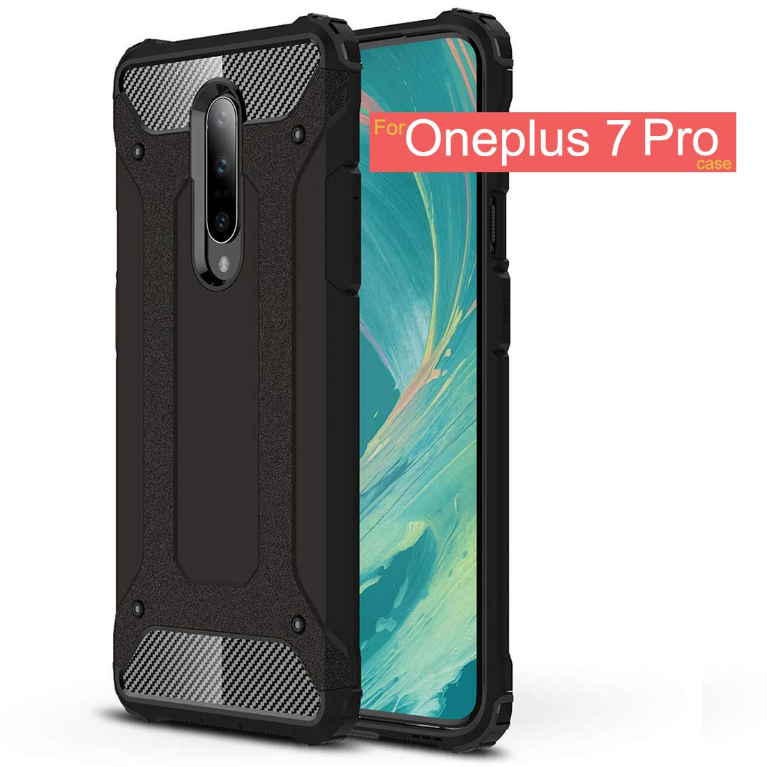 Osophter Dual Layer OnePlus 7 Pro Case Cover