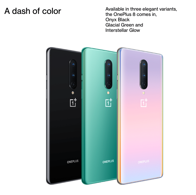 oneplus 8 colour variants