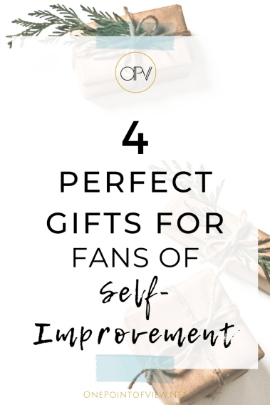 4 Perfect Gifts for Fans of Self-Improvement - Around the holidays, personal development is on everybody's list. Be creative by surprising your friends and family with the gift of well-being. #christmasgifts #christmas #selfimprovement #personaldevelopment #journal #holidays #shopping #2019 #forwomen #forfamily #under50