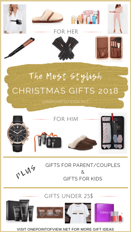The Most Stylish Christmas Gifts - Holiday Shop with Christmas Gifts for women, for men, for parents/couples, for kids and gifts under 25$.
