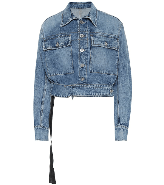 Cropped Denim Jacket - Fall Fashion