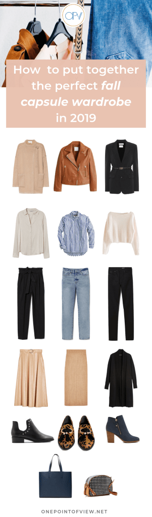How to put together the perfect fall capsule wardrobe