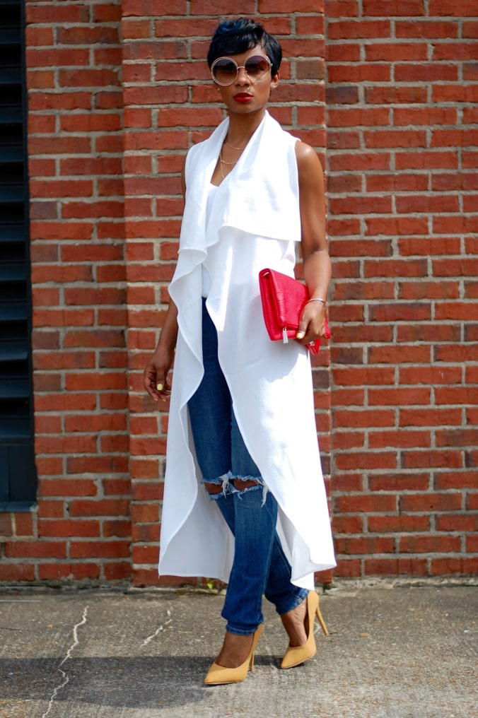 To have and to Hold:Say Hello To Spring Fashion Pieces - Sleeveless coat/Long Vest