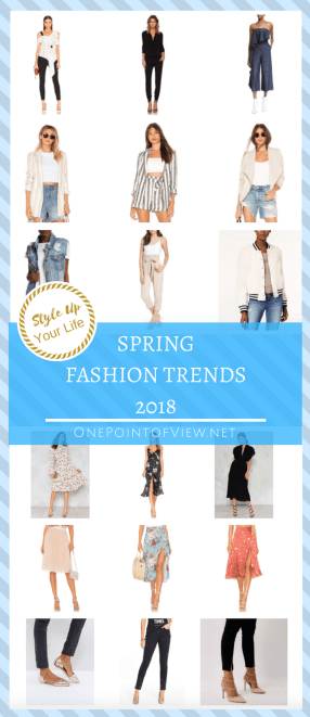 Style Up Your Life - Spring Fashion Trends 2018 - Dress, Shoes, Blazer
