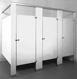 Merveilleux White Powder Coated Bathroom Stalls