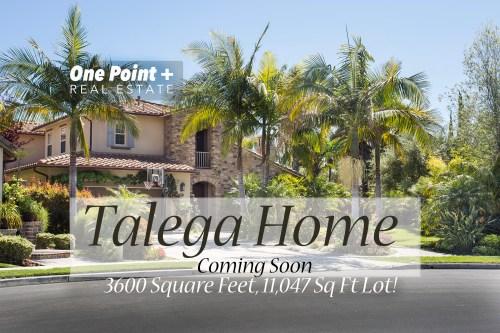 Talega View Home...Coming Soon!