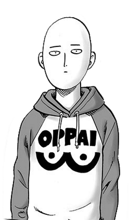 Saitama Oppai para colorir - Saitama Oppai para colorir do one punch man