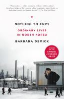 Book cover for Nothing to Envy by Barbara Demick