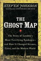 Book cover for The Ghost Map by Steven Johnson