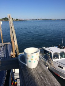 Coffe on the Docks!