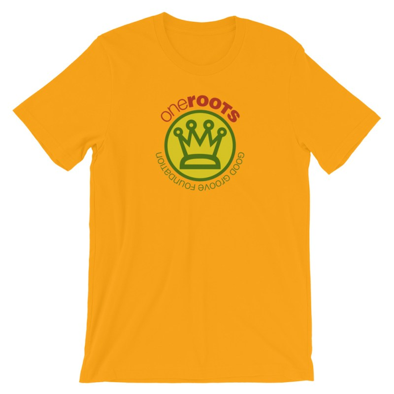 oneROOTS™ - King's Crown - T-Shirt - Gold
