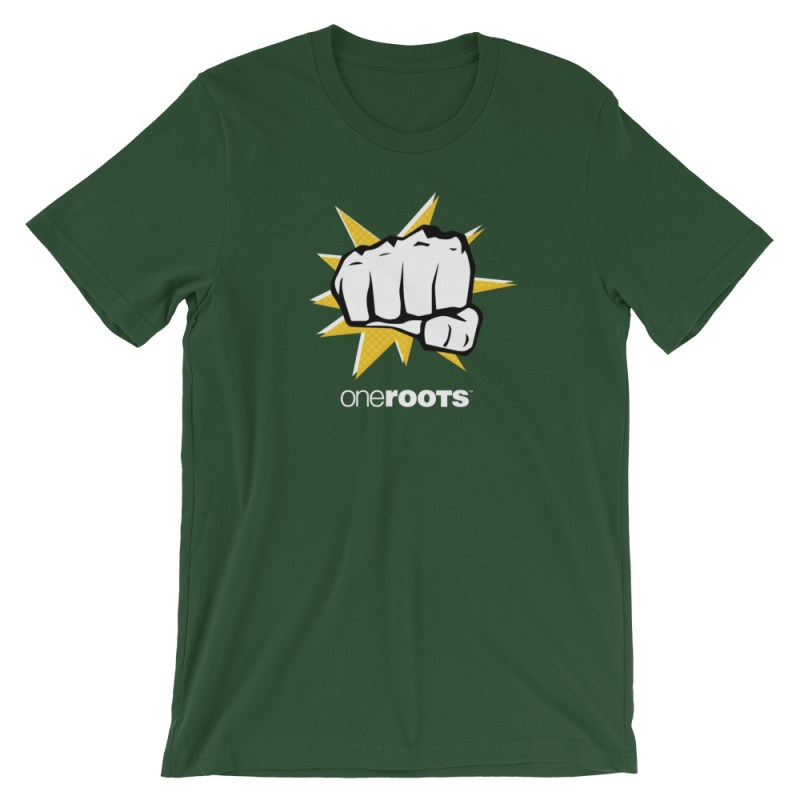 oneROOTS™ - POW! - T-Shirt - Forest