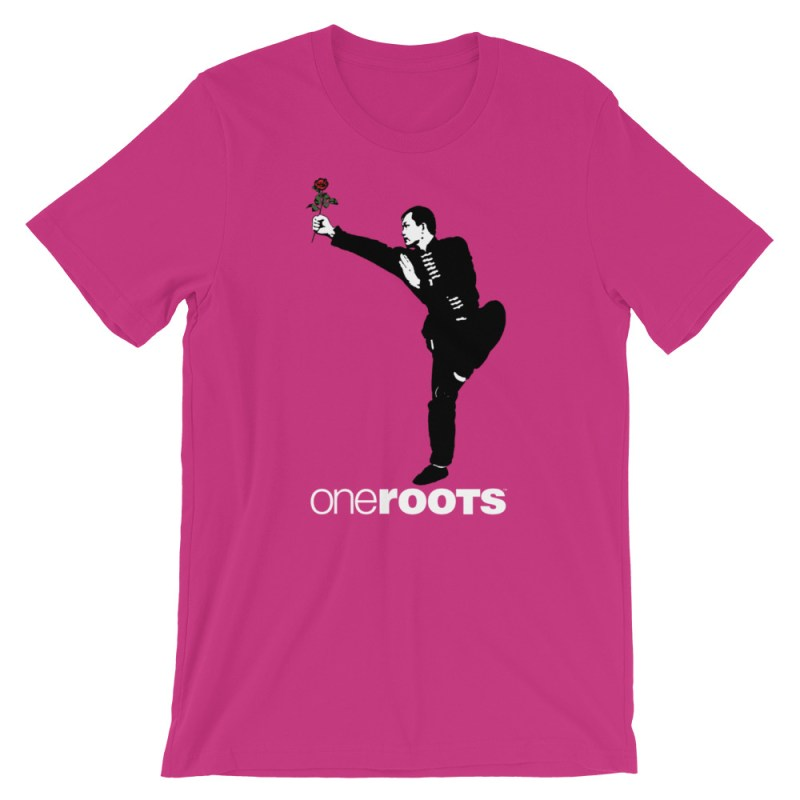 oneROOTS™ - Shaolin Rose - T-Shirt - Berry
