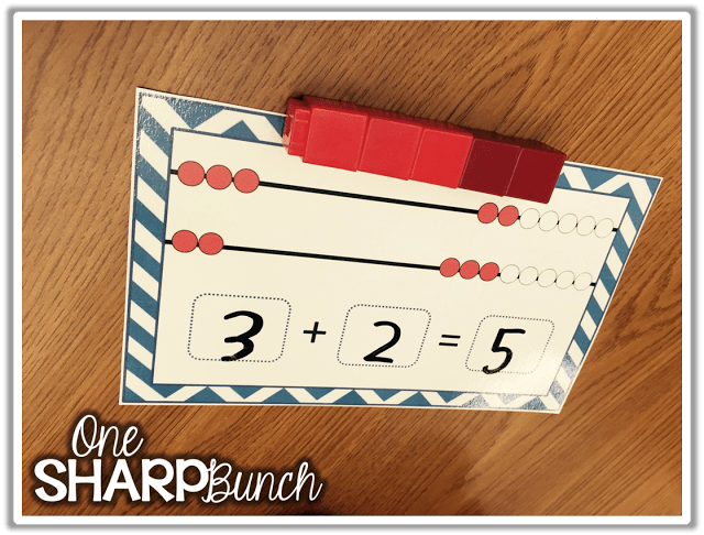 Rekenreks are one our favorite math manipulatives to help build number sense in Kindergarten! Come check out how we made over 200 DIY dry erase rekenreks in only one day! Don't forget to grab our rekenreks FREEBIE, which is the perfect complement to any of your rekenrek activities!