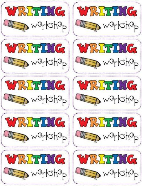 http://www.teacherspayteachers.com/Product/Writing-Workshop-Labels-FREEBIE-842408