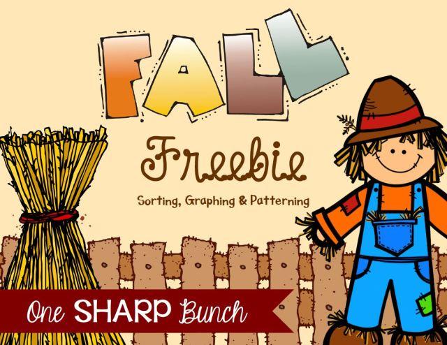http://www.teacherspayteachers.com/Product/Fall-FREEBIE-Sorting-Graphing-Patterning-955892