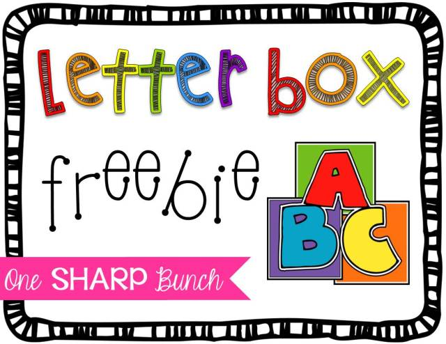 "Encourage letter identification and sound recognition with this engaging at-home connection! Use the ""Letter Box"" to practice beginning sounds, digraphs or blends. This is one of our Kindergarten students' favorite alphabet activities, but it could also be used with preschool students! Grab the ""Letter Box"" FREEBIES to help foster phonemic awareness!"