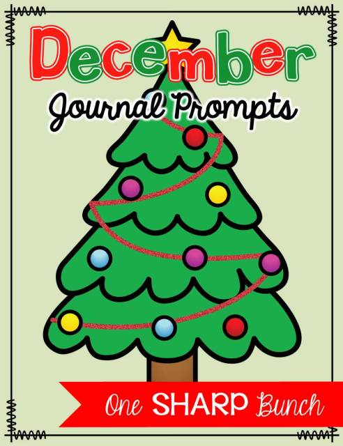 http://www.teacherspayteachers.com/Product/December-Journal-Prompts-No-Prep-Work-on-Writing-1585727