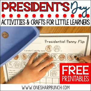 Hip, Hip, Hooray, It's President's Day! FREEBIE