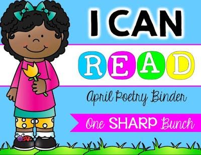 https://www.teacherspayteachers.com/Product/I-Can-Read-Poetry-Binder-April-1799148