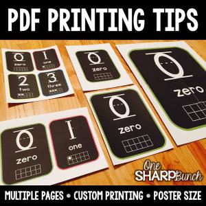 PDF Printing Tips