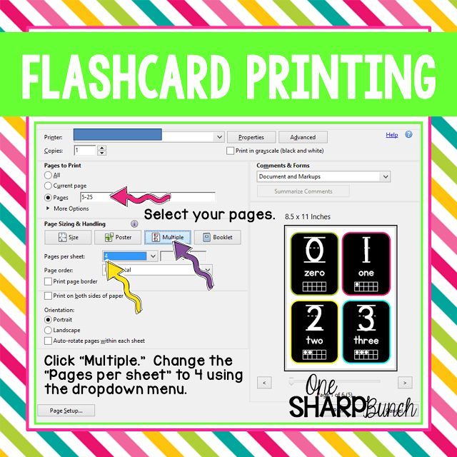 Great classroom hack for printing PDF files! You'll love these PDF printing tips that are sure to make printing in your Kindergarten classroom a little bit easier!