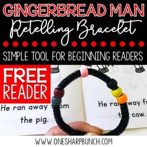 The Gingerbread Man Retelling Bracelet