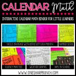 Make the most of your calendar time with this interactive calendar math binder! Practice fluency, number sense, graphing, counting, and review of Common Core math skills... all while your students are actively engaged during calendar time!