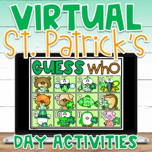 With a mix of remote learning, in-person instruction and hybrid learning, teachers are searching for creative St. Patrick's Day ideas for kids. Finding virtual St. Patrick's Day games and virtual St. Patrick Day activities that are the perfect balance of educational and fun can be a challenge. Even from a distance, we can still create a memorable and engaging St. Patrick's Day virtual party with this St. Patrick's Day Digital Escape Room and St. Patrick's Day virtual scavenger hunt!
