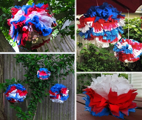 DIY Waterproof Pom-Poms for Outdoor Events (she: Trish ...