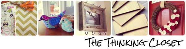 Visit my blog, The Thinking Closet!