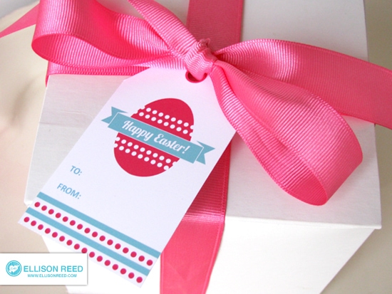 Free printable easter tags she melissa or so she says ribbon string yarn or any other material you want to use to tie the gift tag to present free printable easter negle Gallery