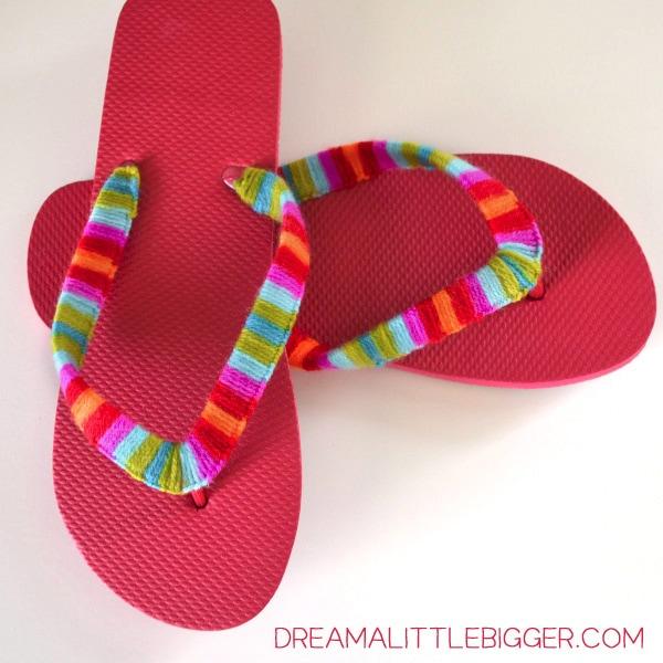 009-yarn-flip-flops-dream-a-little-bigger