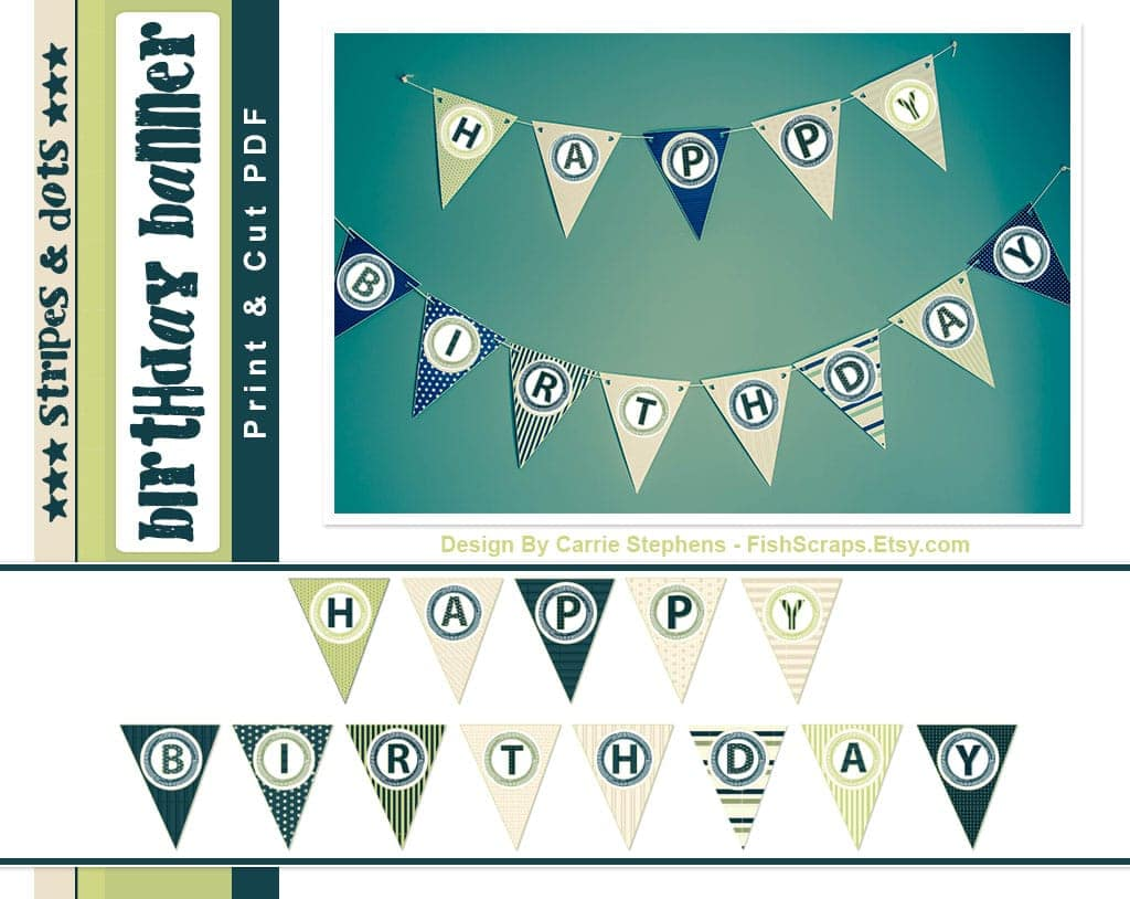 Stripe&Dot-Birthday-Banner-FishScraps