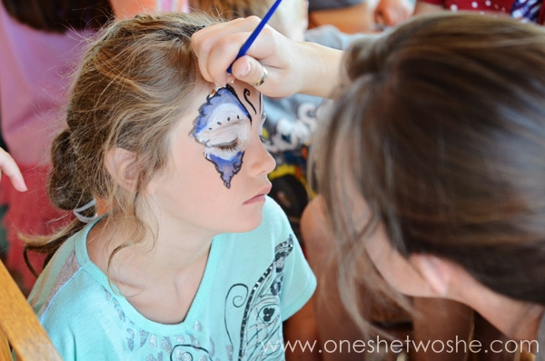 audrey face painting