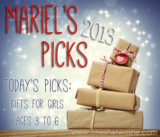 Mariel's Picks 2013