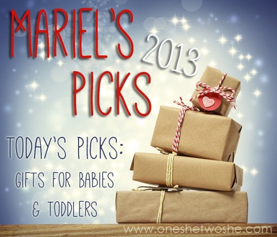 gifts for babies and toddlers