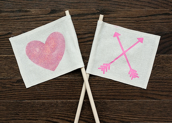 valentine's-flags