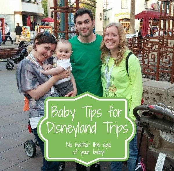 taking your baby to disneyland