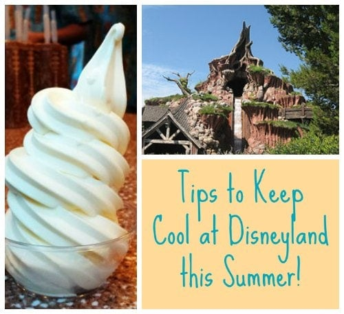 Tips to Keep Cool at Disneyland