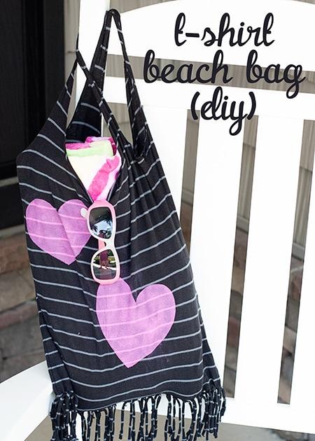 T-Shirt-Beach-Bag-DIY