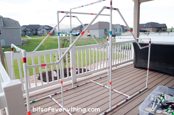 DIY Fort Kit for Indoor or Outdoor Use That Kids Will LOVE