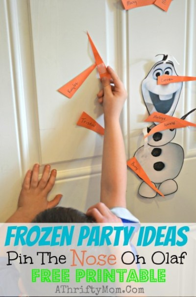 10 Favorite Frozen Party Ideas (she: Mariah) Or so she says
